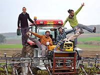 מימין: אלון קליין אורבך, יואב הלוי, יצחק קחלית, ליבנה רוזנבלום: Greeneye  / צילום: Greeneye
