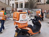 זירת התאונה בגבעת שמואל / צילום: איחוד הצלה