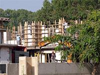 עבודות בנייה בכפר סבא-כרכור / צילום: גלובס