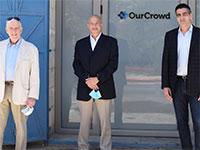 משמאל: ד''ר מורי בלומנפלד, ד''ר מוריס לסטר, דויד סוקוליק / צילום: OurCrowd