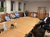 """פגישת האוצר ואל על אמש / צילום: חו""""ל מהודר"""