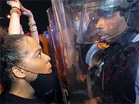 מתוך ההפגנה בניו אורלינס, לואיזיאנה / צילום: Gerald Herbert, Associated Press