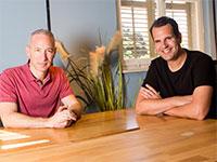 שי וינינגר (מימין) ודניאל שרייבר, מייסדי למונייד / צילום: שלומי יוסף, גלובס