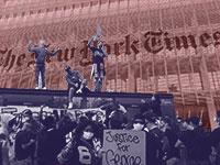הפגנה מחאה ברחבי העולם בעקבות רצח ג'ורג' פלויד / צילום: Luca Bruno, Associated Press