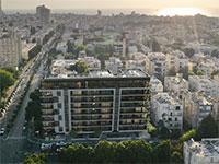 """פרויקט תמ""""א 38 ברחוב ויצמן פינת פנקס בתל אביב של חברת צמח המרמן / צילום: בר אוריין אדריכלים"""