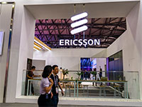 דוכן של אריקסון בתערוכה של חברות תקשורת בשנגחאי, סין   / צילום: dycj, רויטרס