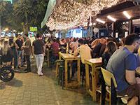 החיים אחרי הסגר. מוציאים על בתי קפה ומסעדות רק 12% פחות מבאמצע ינואר / צילום: בר לביא, גלובס
