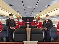 "צוות דיילים של חברת טורקיש איירליינס / צילום: יח""צ"