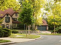 בית בפרברי ניו יורק / צילום: shutterstock, שאטרסטוק