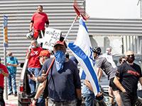 הפגנת העצמאים מול הכנסת באפריל האחרון / צילום: כדיה לוי, גלובס