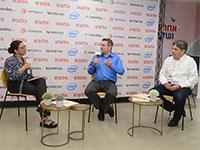 """חן הרצוג, שותף וכלכלן ראשי, BDO, ועברי ורבין, מנכ""""ל GoodVision מקבוצת פאהן קנה, בכנס חומר למחשבה / צילום: איל יצהר, גלובס"""