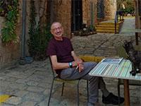 אמיר נוימן אהוביה, הבעלים של גלריה לאמנות ישראלית ביפו     / צילום: תמונה פרטית