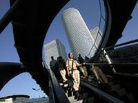 מגדלי עזריאלי בתל אביב / צילום: Baz Ratner , רויטרס