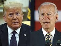 ג'ו ביידן ודונלד טראמפ / צילום: Associated Press