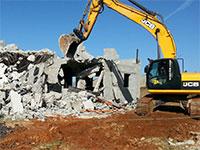 הריסה קודמת של מבנים לא חוקיים בקלנסווה / צילום: היחידה הארצית לאכיפת דיני התכנון והבניה
