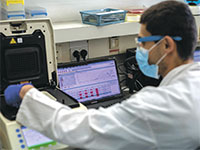 מעבדה בבית חולים בילינסון. אתגרים תפעוליים והנדסיים / צילום: דוברות בית חולים רבין