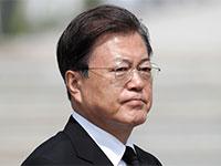 נשיא דרום קוריאה, מון ג'אה־אין / צילום: Associated Press