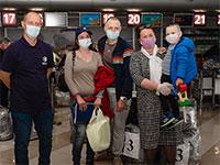 עולים מאוקראינה / צילום: סבטלנה סורוקה, הסוכנות היהודית