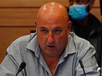 איתמר גרוטו בוועדת הקורונה / צילום: עדינה ולמן, דוברות הכנסת