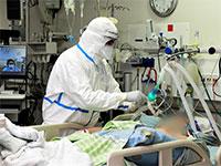 חולה קורונה מטופל בבית החולים שיבא / צילום: רובי קסטרו - וואלה חדשות