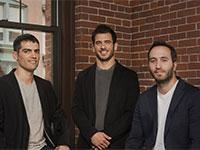 "מייסדי קליימסל (ClimaCell), איתי זלוטניק, רעי גופר ושמעון אלקבץ  / צילום: ClimaCell / צילום: יח""צ"