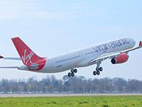 מטוס וירג'ין אטלנטיק / צילום: מלווין נילסון