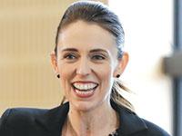 ראש ממשלת ניו זילנד, ג'סינדה ארדרן / צילום: Mark Baker, Associated Press