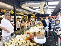 קניות בשוק הכרמל בימי קורונה  / צילום: בר לביא, גלובס