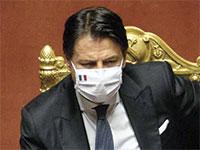 ראש הממשלה ג'וזפה קונטה / צילום: Mauro Scrobogna, Associated Press