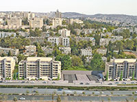 רחוב הרצוג בירושלים  / הדמיה: שרפן