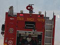 משאית של שירותי הכבאות בישראל / צילום: shutterstock, שאטרסטוק