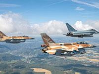 התרגיל האווירי המשותף שהתקיים השבוע בגרמניה. תרגיל ראשון מעל אדמת גרמניה   / צילום: Luftwaffe