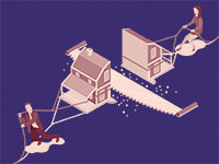 חלוקת הרכוש בהליך הגירושים / איור: shutterstock, שאטרסטוק