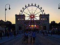 הכיכר המרכזית במינכן. מספר מועט של מקרי הדבקה במסעדות ובאוויר הפתוח / צילום: Matthias Schrader , Associated Press