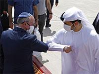 """ראש המל""""ל מאיר בן שבת עוזב את האיחוד בתום ביקור המשלחת הישראלית־אמריקאית / צילום: Nir Elias, Associated Press"""