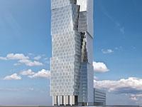 מגדל יעקב נמרודי / הדמיה: משה צור אדריכלים