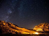 תצפית כוכבים בהר הנגב / צילום: דניאל בר