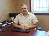 עוזי בריח, בעל חברת אלגונל, המספקת שירותי ציפוי וצביעת מתכות / צילום: תמונה פרטית