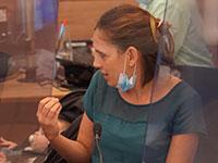 """מנכ""""לית האוצר, קרן טרנר, בדיון בוועדת הכלכלה של הכנסת / צילום: יהונתן סמייה, דוברות הכנסת"""