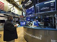 בורסת ניו יורק. מוקדם להגיד שהקורונה הפסיקה להשפיע על השווקים / צילום: Colin Ziemer, Associated Press