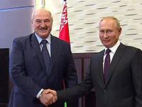 ולדימיר פוטין ואלכסנדר לוקשנקו / צילום: Russian Presidential Press, Associated Press
