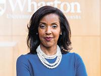 פרופ' אריקה ג'יימס, דיקנית בית הספר וורטון למנהל עסקים באונברסיטת פנסילבניה  / צילום:  LARA WILLIAMSON  University of Pennsylvania