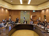 ועדת הכספים בראשות משה גפני, היום / צילום: דוברות ועדת הכספים