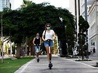 שדרות רוטשילד בתל אביב במהלך הסגר. ההשפעות הכלכליות עשויות להיות הרסניות   / צילום: Corinna Kern, רויטרס