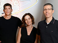 עינת גז, עופר הרמן, ראובן דרונג, מייסדי Papaya Global / צילום: איל יצהר, גלובס