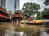 הצפות באינדונזיה/ צילום:רויטרס, Antara Foto