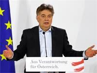 """ורנר קוגלר, ראש מפלגת ה""""ירוקים"""" באוסטריה / צילום: Leonhard Foeger, רויטרס"""