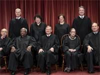"""שופטי בית המשפט העליון בארה""""ב, בתמונה רשמית מ-2018 / צילום: J. Scott Applewhite, Associated Press"""