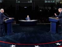 העימות הראשון בין טראמפ וביידן / צילום: Patrick Semansky, AP