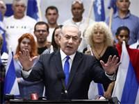 ראש הממשלה בנימין נתניהו במסיבת עיתונאים / צילום: Oded Balilty, Associated Press